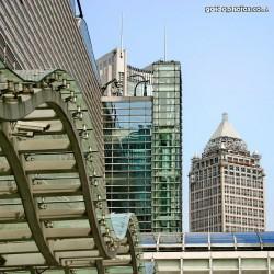 China, Shanghai, Architektur, Gebäude, Hochhäuser