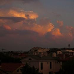 Abendhimmel Riccione