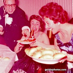 1950er, Wurst, Party, lustig