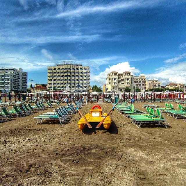 Riccione, Strand, Adria