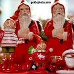Viele Weihnachtsmänner