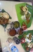 In little India mit dem tschechischen Pärchen zu Mitag gegessen.