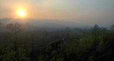 Sonnenuntergang Pai Canyon