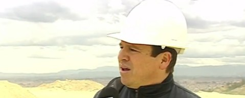 Jairo Méndez, ingeniero de una de las minas intervenidas.