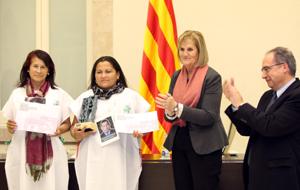 El Premio ICIP Constructores de Paz 2012 reconoció cinco Madres de Soacha -Luz Marina Bernal, Carmenza Gómez, Maria Sanabria, Mélida Bermúdez y Lucero Carmona.