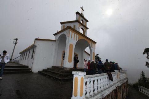 Santuario de la Virgen del Carmen en el municipio de Carmen de Carupa