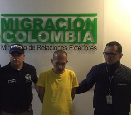 El 'Lobo Feroz', extraditado a Colombia, fue trasladado a
