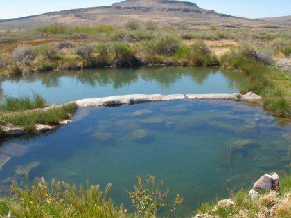 Willow Creek Hot Springs Hot Pool