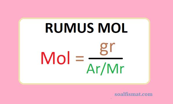 Rumus mol