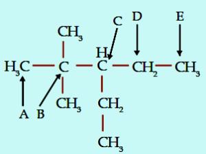 Contoh soal 1 jenis atom primer, sekunder, tersier, dan kuarterner