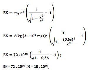 Energi kinetik relativistik