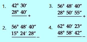 Contoh soal penjumlahan & pengurangan sudut nomor 4
