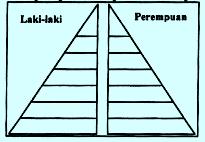 Soal UN piramida penduduk