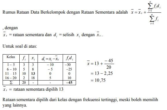 Pengertian parametrik pada statristika adalah…. 45 Contoh Soal Statistika Dan Jawaban