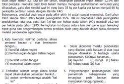Prediksi Soal SPMB 2007 dan Pembahasan