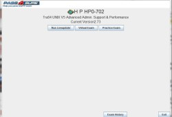 HP Exam HP0-702 Tru64 UNIX V5 Advance Admin. Support & Performance
