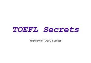 toefl success secret