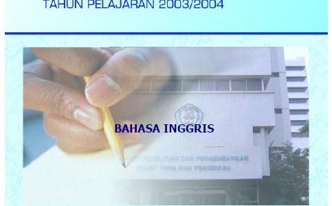 Materi, Soal dan Pembahasan Ujian Nasional UN SMP 2004