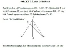 Soal dan Solusi Pembahasan OSN Matematika SMA 2007