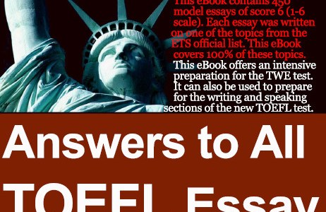 eBook: Answers to All TOEFL Essay Questions