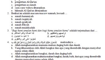 Soal Cerdas Cermat Agama Cca Islam Soalujian Net