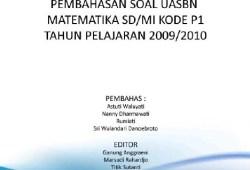 Soal dan Pembahasan UASBN Matematika SD 2010
