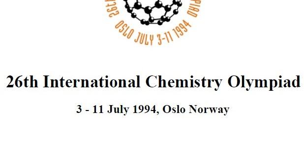Soal 26th International Chemistry Olimpiad