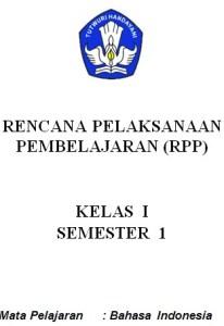 RPP Bahasa Indonesia SD/MI Kelas 1-6