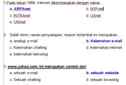 Soal Tik Sma Bank Soal Ujian