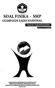 Soal Olimpiade Sains Nasional OSN Fisika SMP 2013