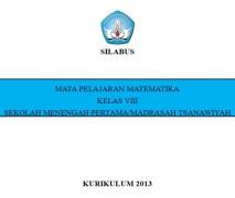 Download Silabus Matematika SMP Kurikulum 2013