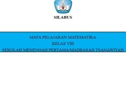 Silabus Matematika SMP Kurikulum 2013