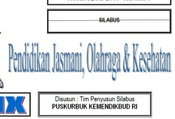 Silabus Penjasorkes SMP Kurikulum 2013
