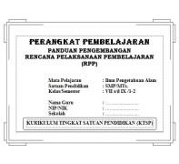 Perangkat Pembelajaran IPA SMP KTSP