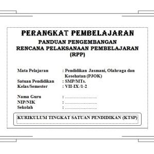 Perangkat Pembelajaran PJOK SMP KTSP