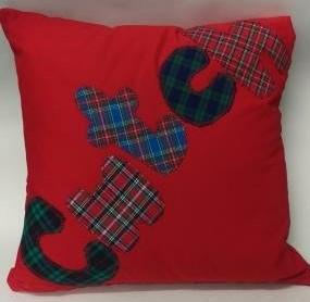 cwtch cushion ready for craft fayre