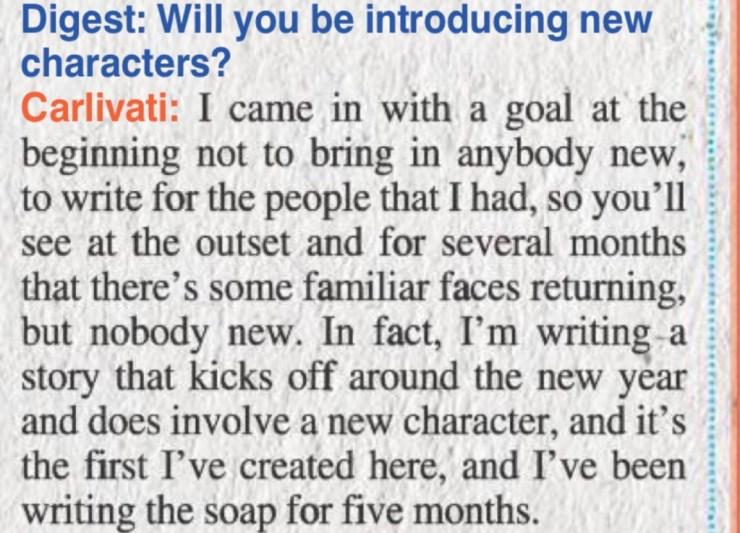 Carlivati SOD Interview