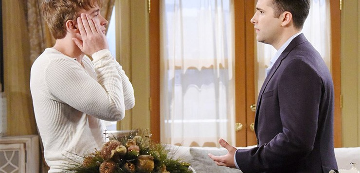 Days of Our Lives Spoilers, Wednesday, December 13th: Sonny Stunned by Will!