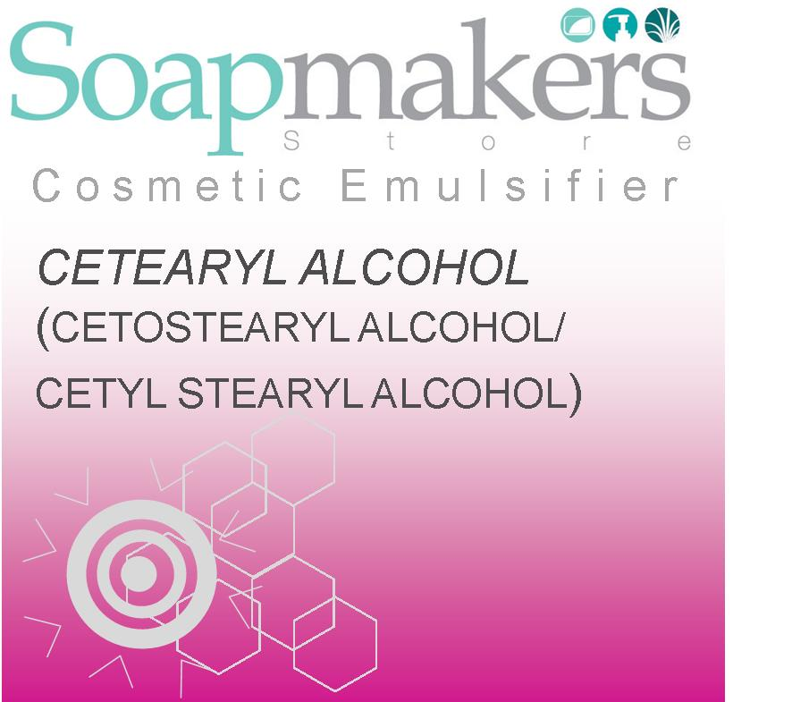 Cetearyl Alcohol | Cetyl Stearyl In Cosmetics | Soapmakers