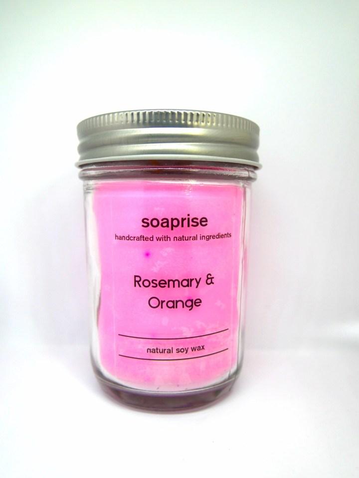 Rosemary-orange-candle