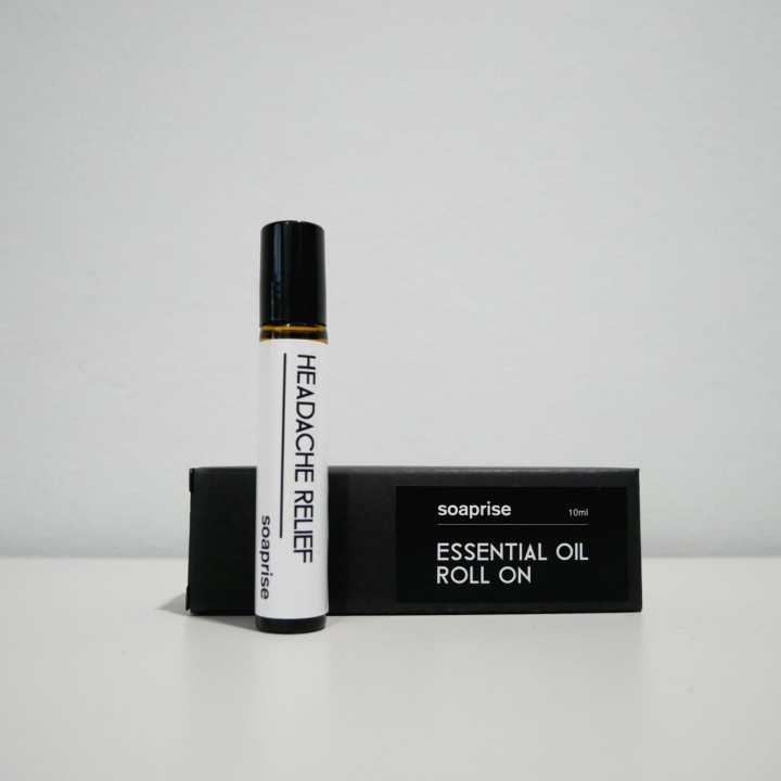 headache relief essential oil roller