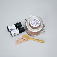 pink salt scrubs