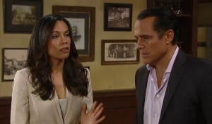 Martina and Sonny are caught by Carly-ABC