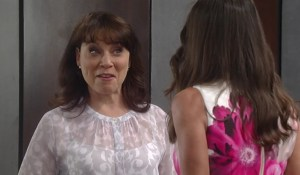 Obrecht asks Lucy to let her into the hall-GH-ABC