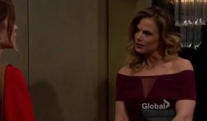 Phyllis explains something to Victoria-CBS