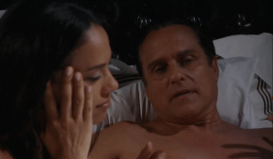 Sonny and Martina lounge in bed-GH-ABC