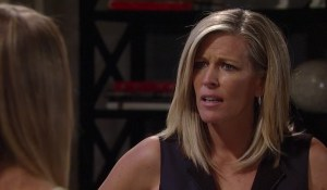 Joss lectures Carly about Sonny-GH-ABC