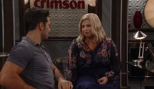 Nathan gives Amy advice-GH-ABC