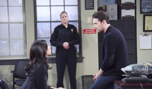 Chad visits Gabi at the police station-DOOL-JJ