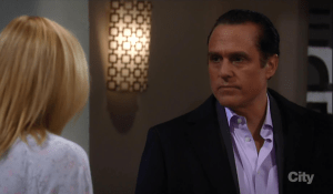 Sonny refuses to leave Avery with Ava-GH-ABC